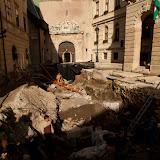 2010.10.28 Fő tér rom lefedés