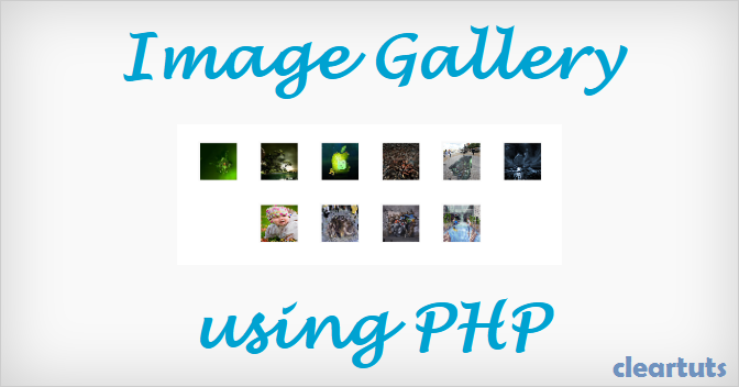 Creating an Image Gallery from Folder using PHP