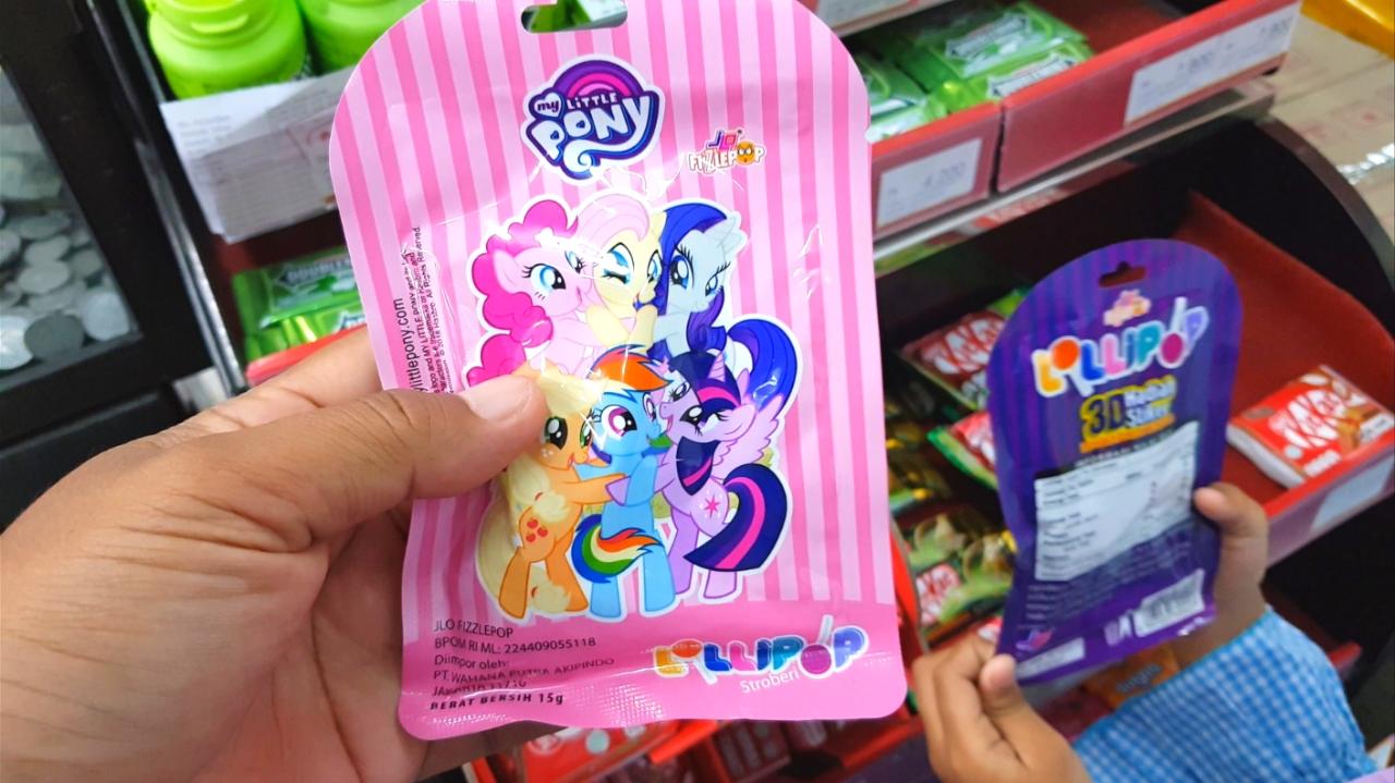 Permen Lolipop My Little Pony