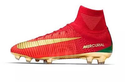 Ronaldo dapat kasut baharu