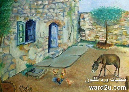 من اعمال الفنانة التشكيلية مرام حسن Maram Hassn