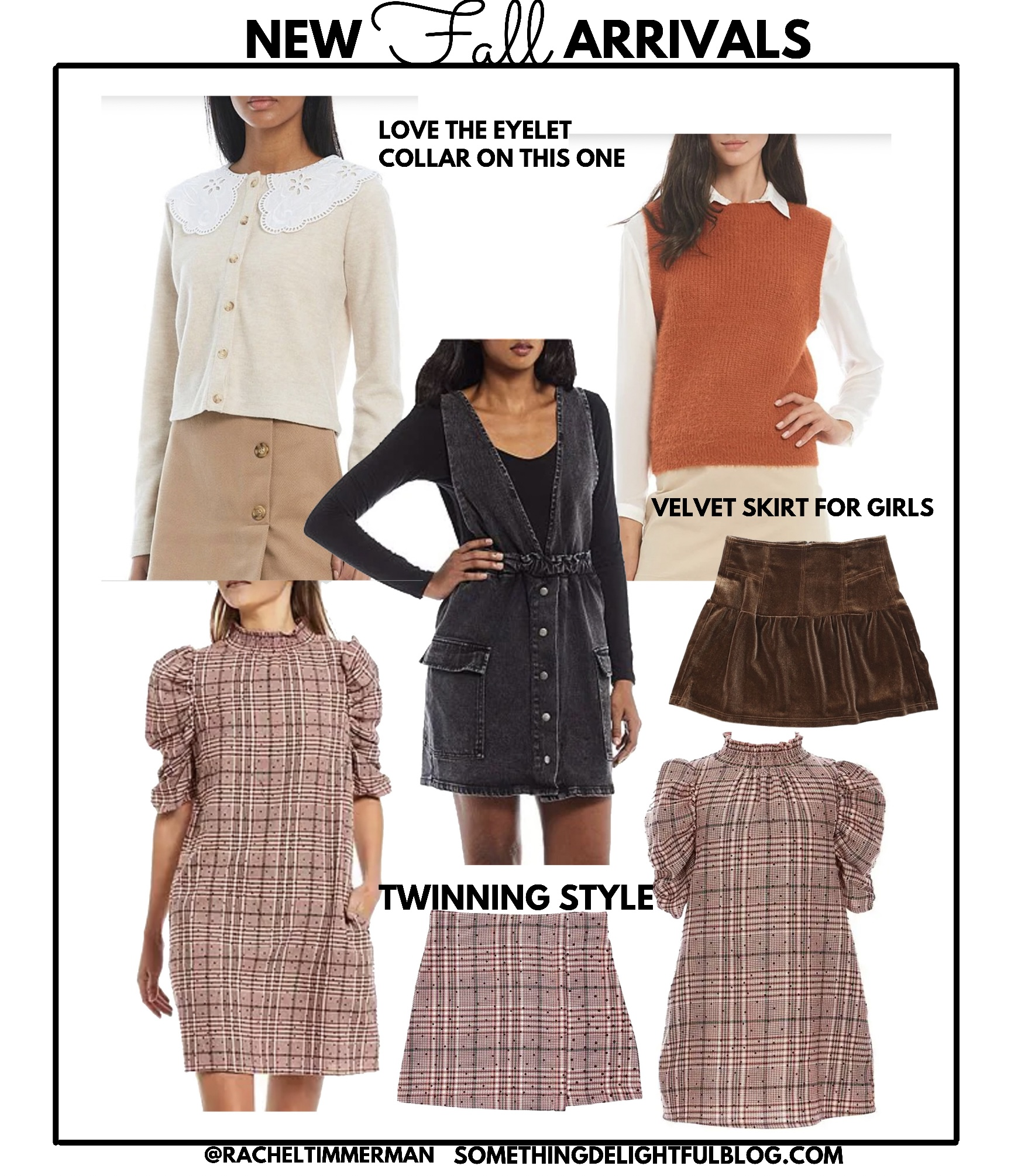 New Fall Finds - Sweater Vest Style - Something Delightful Blog