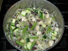 Weight Loss Recipes : Black Bean and Cabbage Stew