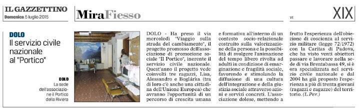Photo: Il Gazzettino di Venezia (05.7.2015)