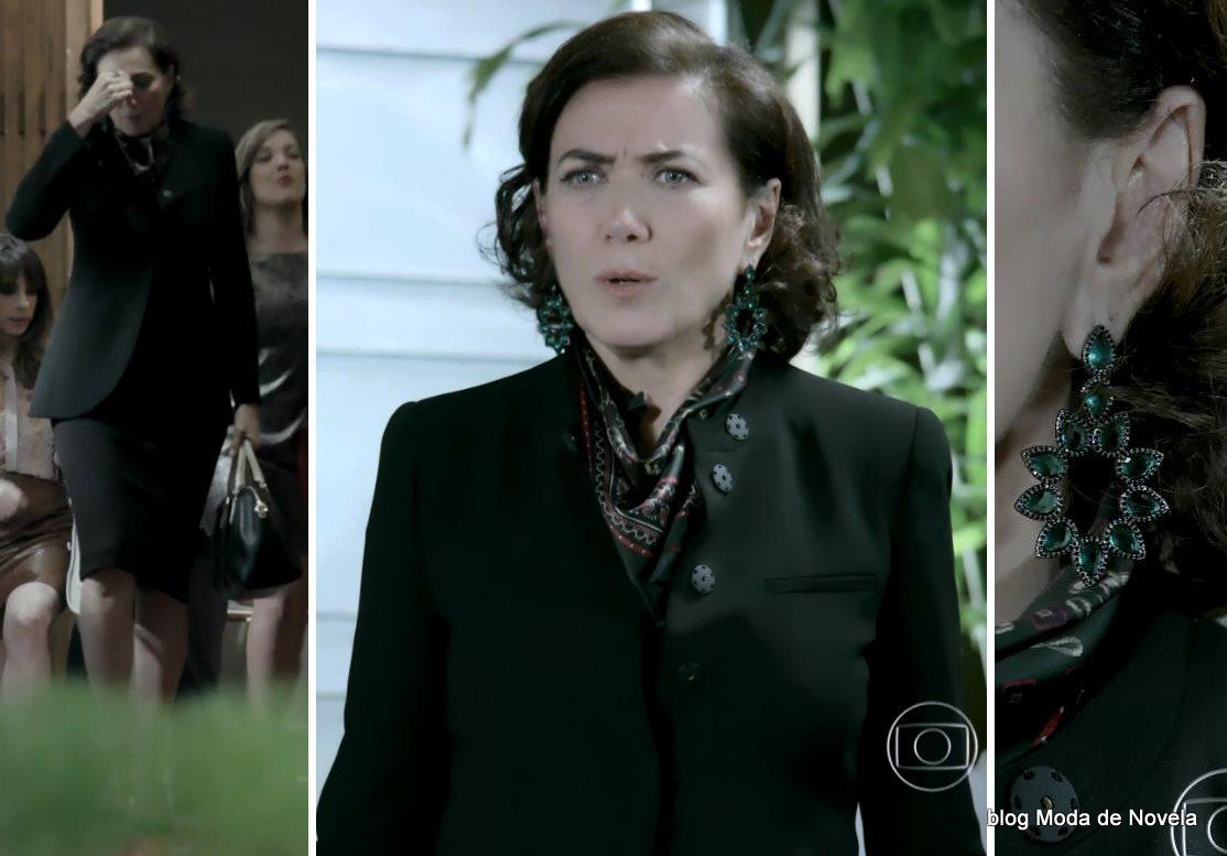 moda da novela Império, look da Maria Marta dia 6 de novembro