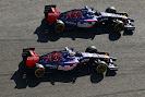 Jean-Eric Vergne & Daniil Kvyat Toro Rosso STR9