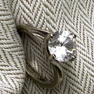 14 Kt. White Gold Ring