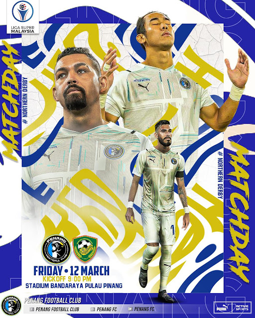 Live Streaming Penang vs Kedah Liga Super 12.3.2021