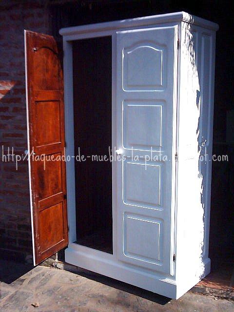 Laqueado blanco ureico muebles de madera restauraci n for Muebles de algarrobo en la plata