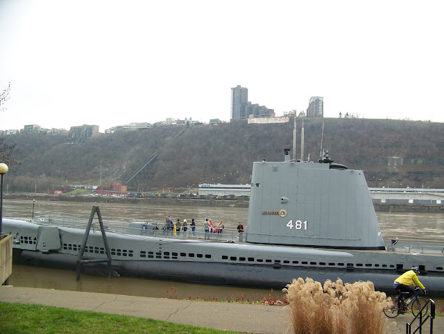 USS Requin submarine. A Guide to Exploring the Carnegie Science Center