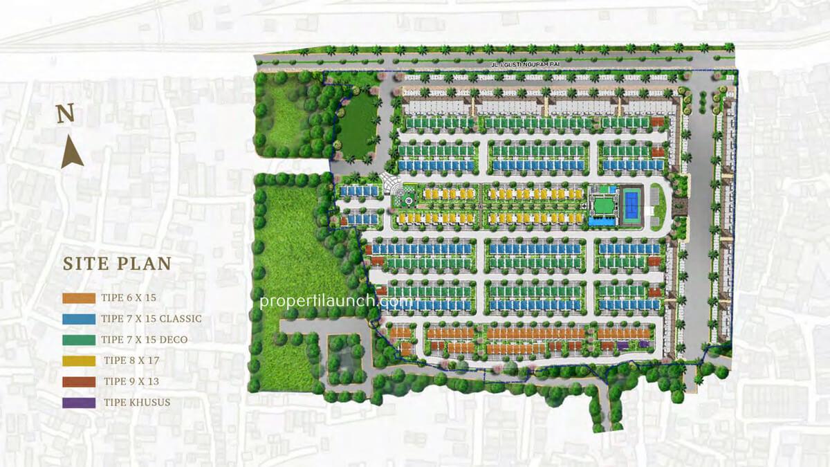 Siteplan Bukit Podomoro