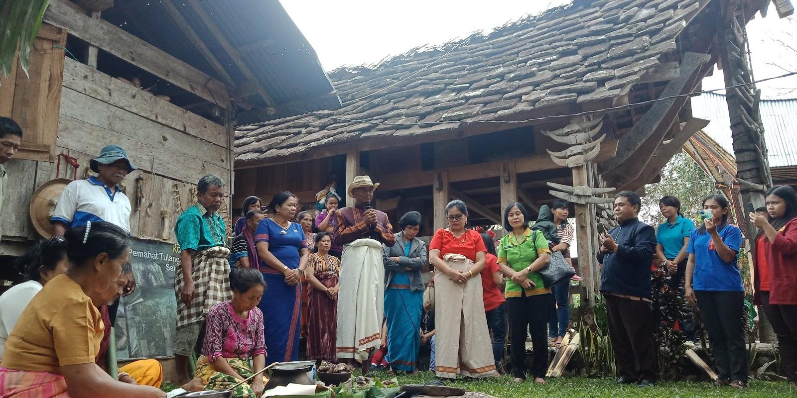 Ritual Tallu Rara di Tongkonan Papa Batu Tumakke', Sambut HUT Tana Toraja