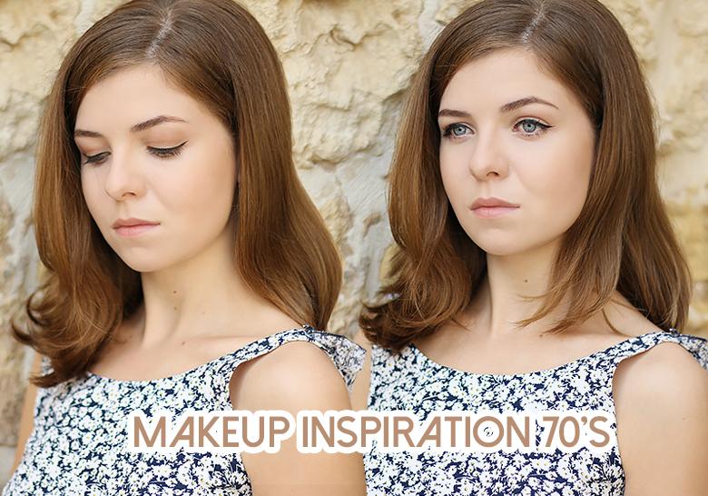 Un tuto pour créer un makeup 70s.