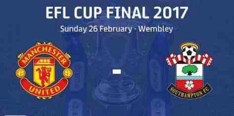 Manchester United vs Southampton EFL Cup Final Match Highlight