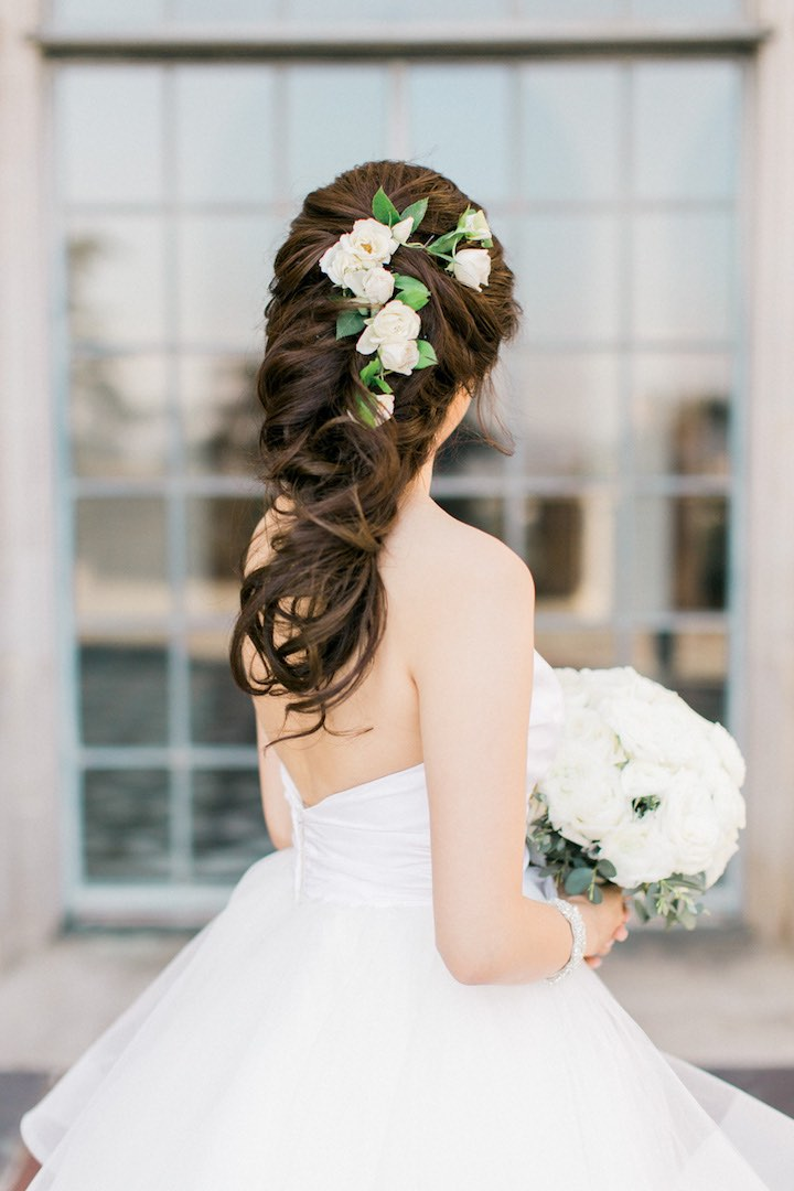 Latest Wedding Hairstyles For Long Hair 3