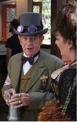 steampunk party attire