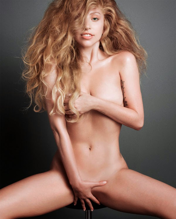 Lady Gaga desnuda para V magazine