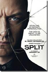 Split - poster - recensione - film - 2017