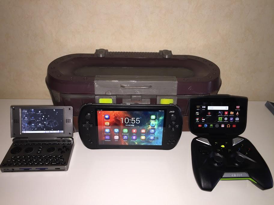 3 Consoles voor (retro) gaming.