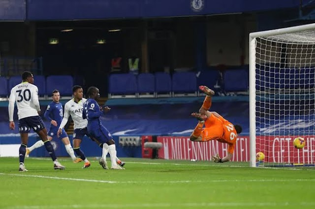 Chelsea Dropped Points As Villa Fight Back At Stamford Bridge