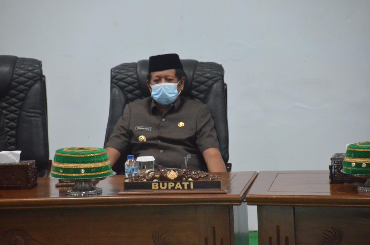 Bupati Soppeng Hadiri Sidang Paripurna DPRD Teken Nota Kesepakatan Anggaran Tahun 2022