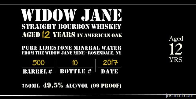 Jane Straight Bourbon Whiskey 12-Year
