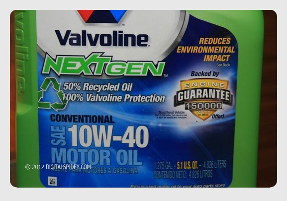 Valvoline Launched Recycled Motor Oil In The Philippines