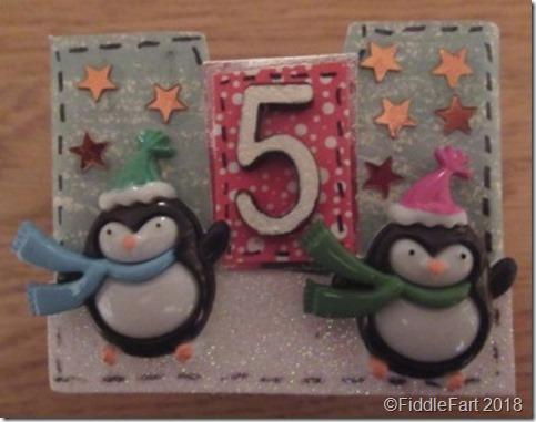penguin Advent drawer