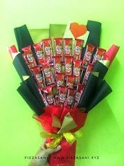Coklat Bouquet Untuk Surprise Delivery Birthday Adik Ipar
