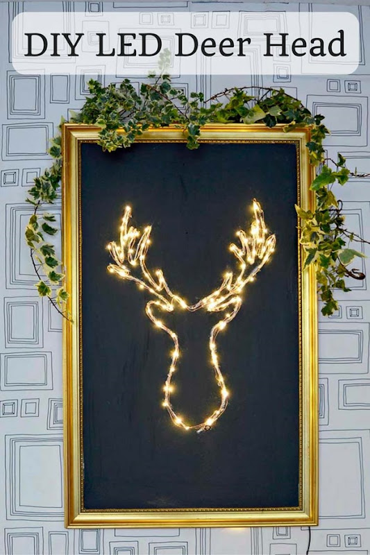 DIY-LED-Deer-Head-pin