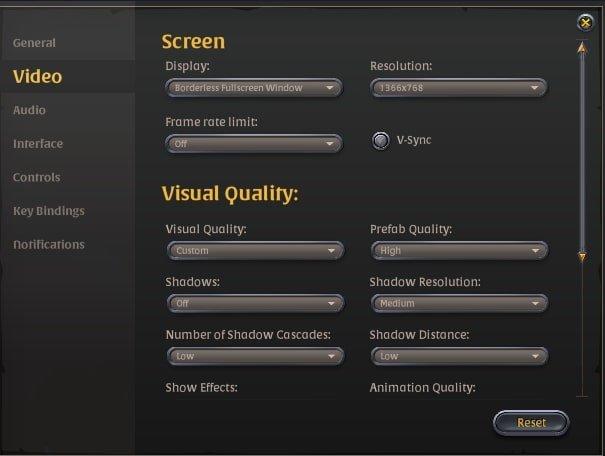 Albion Online için En İyi Grafik Ayarları