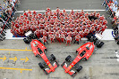 The 2015 Ferrari Formula 1 team