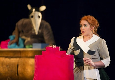 IN PERFORMANCE: Mezzo-soprano TARA ERRAUGHT in the title rôle of Gioachino Rossini's LA CENERENTOLA at Washington National Opera, 17 May 2015 [Photo by Scott Suchman, © Washington National Opera]
