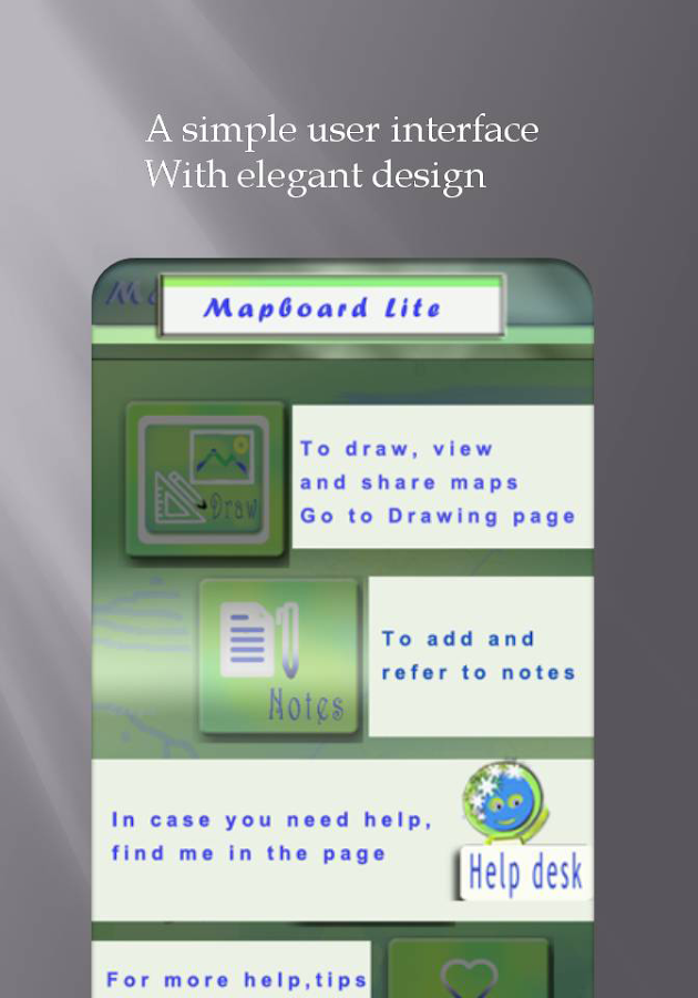 Mapboard Lite: Map Drawing App- screenshot