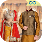 Indian Wedding Photo Editor Frame