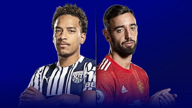 Ramalan Keputusan Perlawanan West Brom vs Manchester United (14.2.2021)