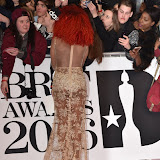 OIC - ENTSIMAGES.COM - Fleur East at the  The BRIT Awards 2016 (BRITs) in London 24th February 2016.  Raymond Weil's  Official Watch and  Timing Partner for the BRIT Awards. Photo Mobis Photos/OIC 0203 174 1069