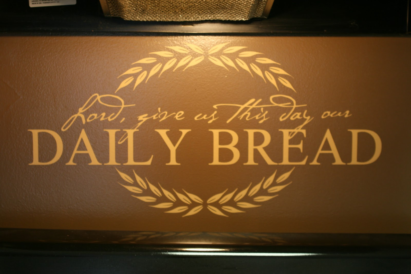 Lil' Bugger: Daily Bread Kitchen Wall Vinyl