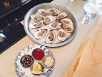 Furlough Toronto: oysters