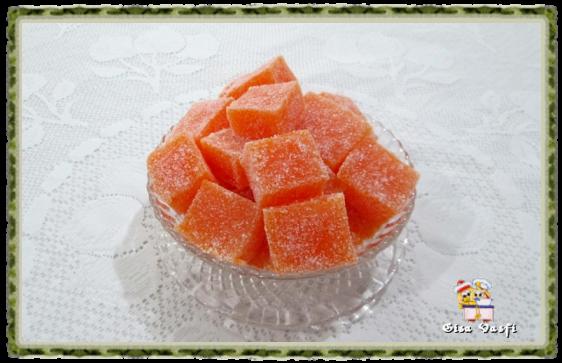 Geleia de frutas com gelatina 1