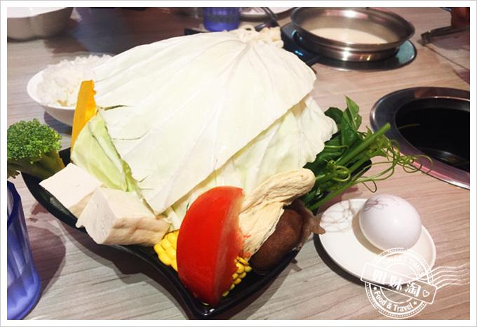 咕咚鼎私房養生火鍋菜單菜盤