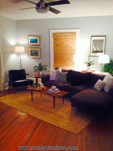 Phòng khách tươi mới đón mùa xuân hè_tin tức nội thất-1