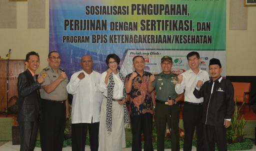 Sekda Sukabumi Minta Perusahaan Patuhi dan Daftarkan Karyawan Kedalam Program BPJS Ketenagakerjaan