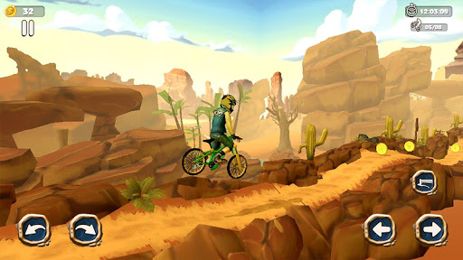Dirt Bike Racing Stunts screenshot 5