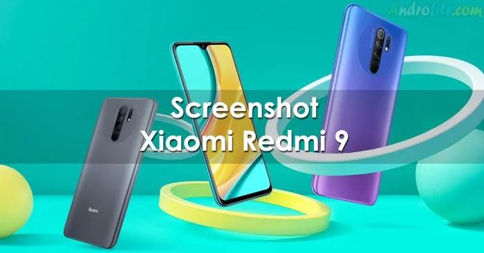 Cara Screenshot Redmi 9 / 9A / 9C