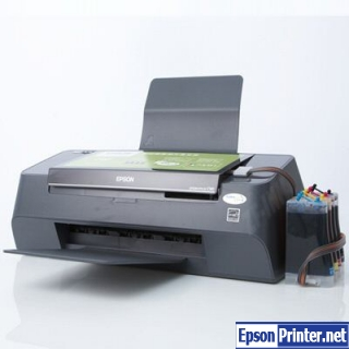 How to reset Epson C95 printer