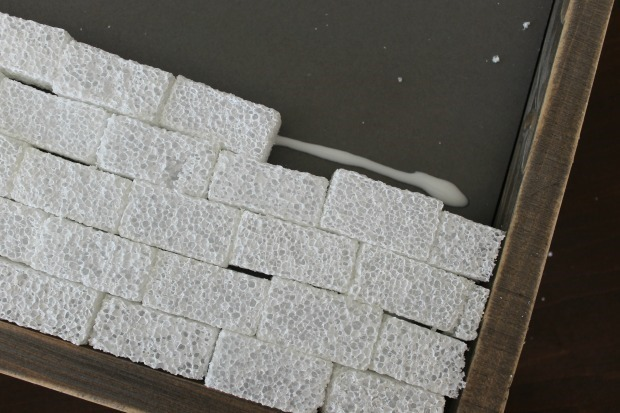 foam brick craft projects
