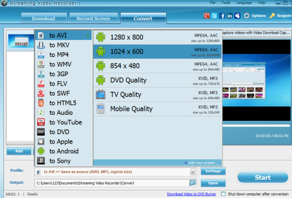 Apowersoft Streaming Audio Recorder 4.0.2