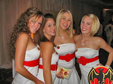 J/70 Bacardi girls