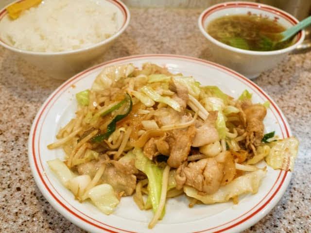 肉味噌炒め定食